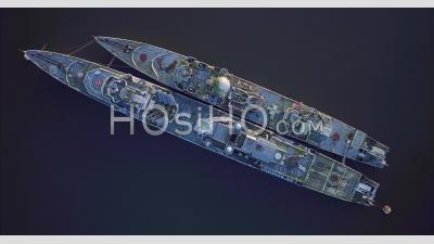 Cimetière Des Navires à Landévennec, Vidéo Drone