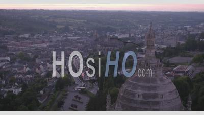 Basilique De Sainte Thérèse De Lisieux église - Vidéo Drone