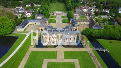 Castle Of Dampierre-En-Yvelines - Video Drone Footage
