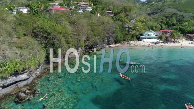 Anses Dufour In Martinique By Drone - Drone Point Of View