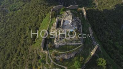 Termes Cathar Castle, Drone Point Of View