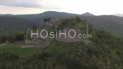 Termes Cathar Castle, Video Drone Footage