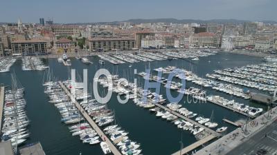 Quai Rive Neuve, Marseille, Vidéo Drone