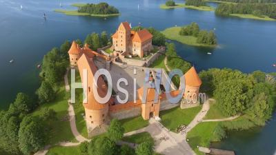 Trakai Castle Drone Video Lituanie - Vidéo Drone