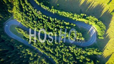 Route De La Forêt Serpentine - Vidéo Drone