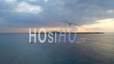 Île De Gili Près De Bali Indonésie - Vidéo Drone