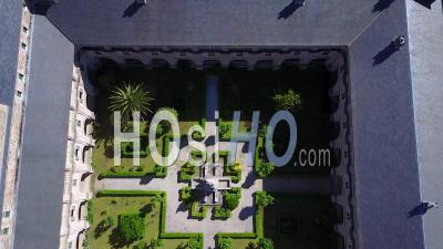 Saint-Jacques-De-Compostelle, Samos, Espagne - Vidéo Drone