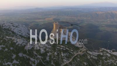 Queribus Castle Vidéo Drone