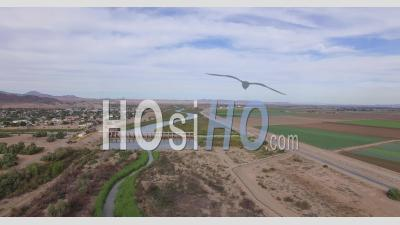 Morelos Dam Drone Video Yuma County Arizona Us Mexico Border - Video Drone Footage