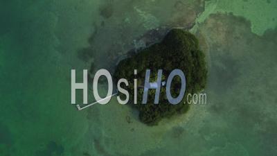 Coup Vertical Sur Little Money Key Florida Keys - Vidéo Drone
