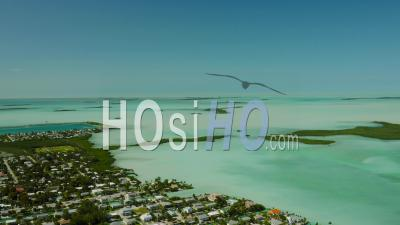Survoler Le Panoramique De Big Coppitt Key. Florida Keys - Vidéo Drone