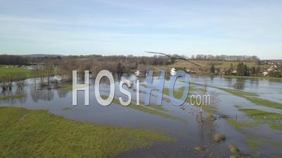 Champs Inondés, Vidéo Drone