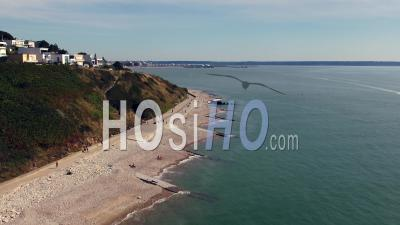 Le Havre Beach- Drone Point Of View