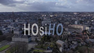 Ville De Limoges Et Sa Cathédrale, Vidéo Drone