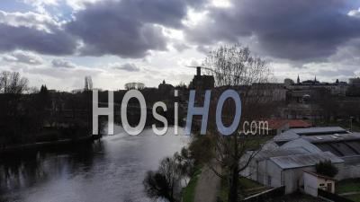 La Ville De Limoges Et Sa Cathédrale - Vidéo Drone