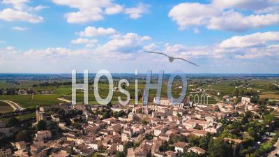 Saint Emilion Timelapse - Video Drone Footage