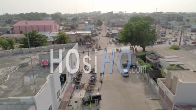 City Of Cotonou, Drone Point Of View