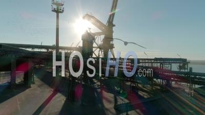 French Port, Video Drone Footage