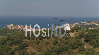 Notre-Dame-De-La-Salette, Banyuls-Sur-Mer - Video Drone Footage