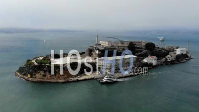 Alcatraz Hyperlapse - Video Drone Footage