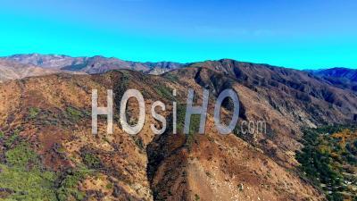 Aerial Over Ojai, California - Video Drone Footage