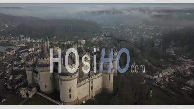 Pierrefonds Castle - Video Drone Footage