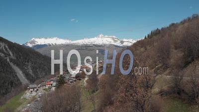 Peisey-Nancroix Village - Video Drone Footage