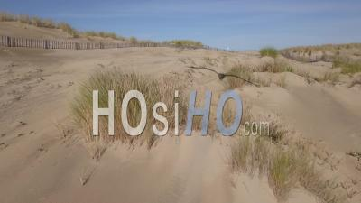 La Tremblade Beach And Dune, Video Drone Footage