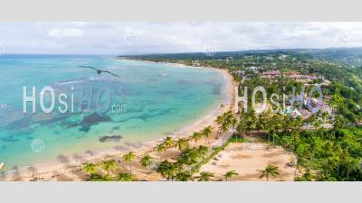 Beach In Samana - Aerial Photography