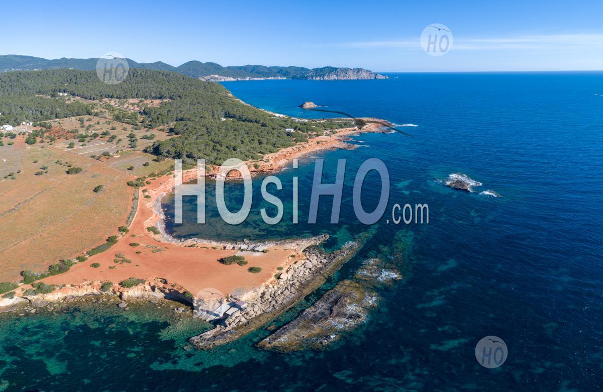 Coast Of Ibiza - Aerial Photography