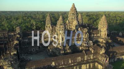 Temple D'angkor Vat, Cambodge - Vidéo Drone