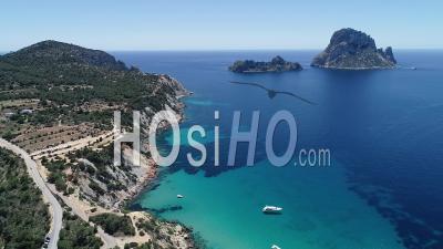 Es Vedra Rock, Ibiza - Video Drone Footage