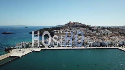Ville D'ibiza - Vidéo Drone