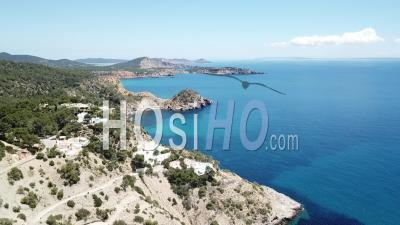 Ibiza Coast - Drone Point Of View