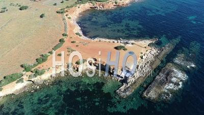 Ibiza Coast - Video Drone Footage