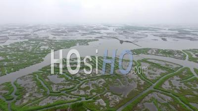 Nokoue Lake Fields - Vidéo Drone