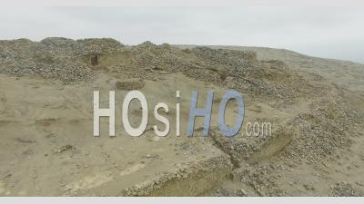 Chankillo Fortified Temple In Peru - Video Drone Footage