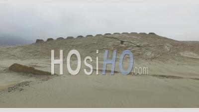 Chankillo Treize Tours Au Pérou - Vu Par Drone