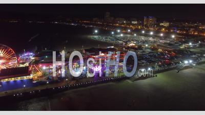 Venice Beach Los Angeles En Californie - Vu Par Drone