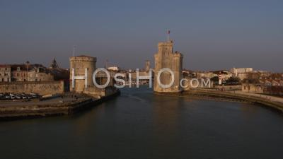 La Rochelle Vieux-Port Towers - Drone Point Of View