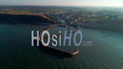 Port En Bessin En Normandie, Calvados - Vidéo Drone