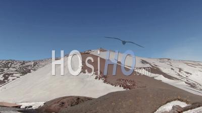 Sommet De L'etna En Sicile, Le Plus Grand Volcan D'europe - Vidéo Drone