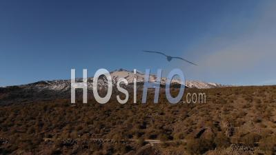 Sommet Du Mont Etna En Sicile (italie) - Vidéo Drone