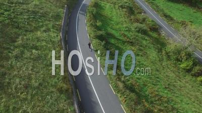 Skate Downhill Par Drone, Irlande