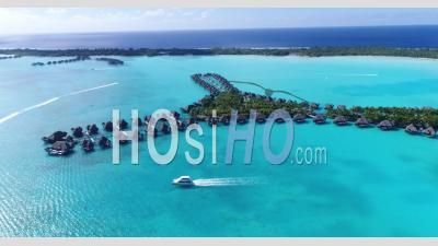 Resorts à Bora Bora Polynésie Française - - Vidéo Drone