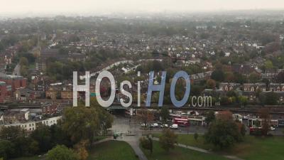 A Victorian Village In South London - Video Drone Footage