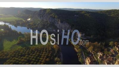 La Roque Gageac Video Drone Footage