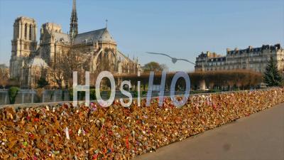France, Paris, Unesco World Heritage Site, Cathedral Notre-Dame De Paris