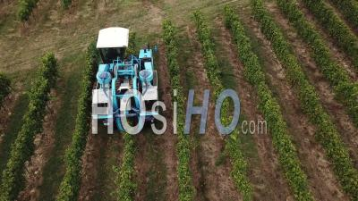 Harvesting Machine, Video Drone Footage