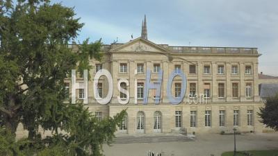 Hôtel De Ville De Bordeaux, Palais Rohan, Vidéo Drone, France